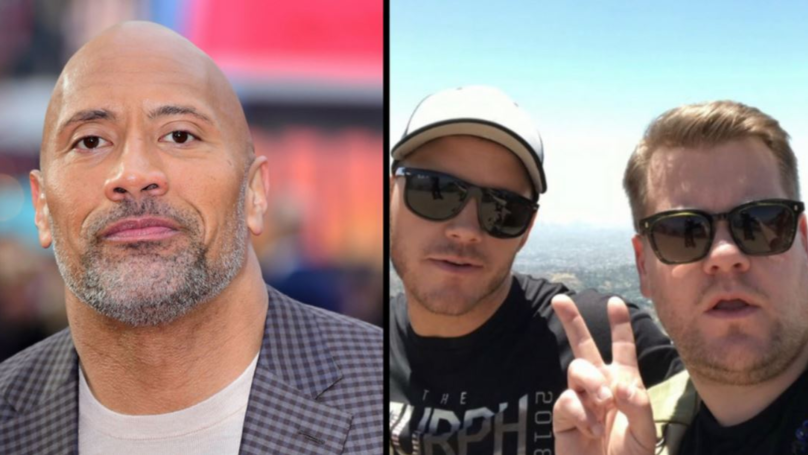 The Rock Challenges James Corden To Bare-Knuckle Fight On Twitter