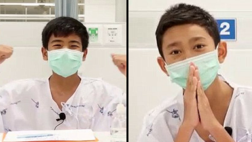 Thai Boys Who Were Trapped In Cave Speak For First Time Following Rescue