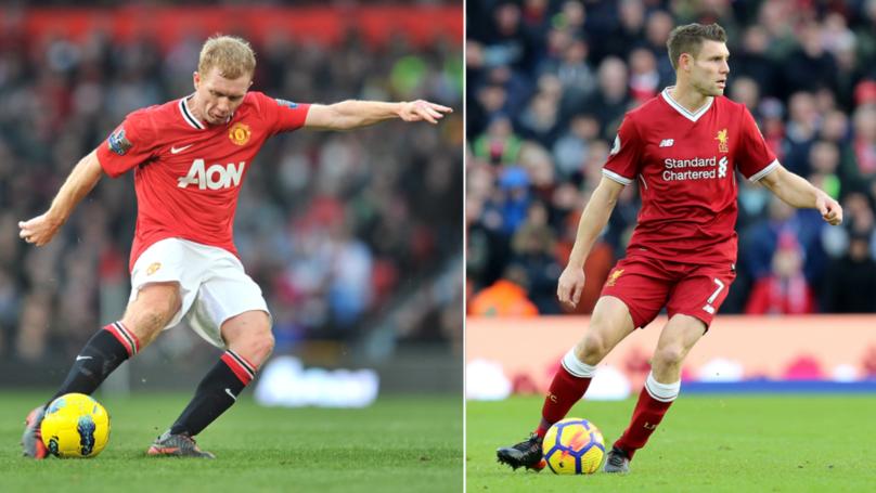 James Milner Has More Premier League And Champions League Assists Than Paul Scholes