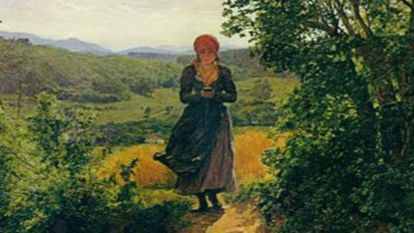 Painting From 1860 Looks Like A Woman Is Holding An iPhone