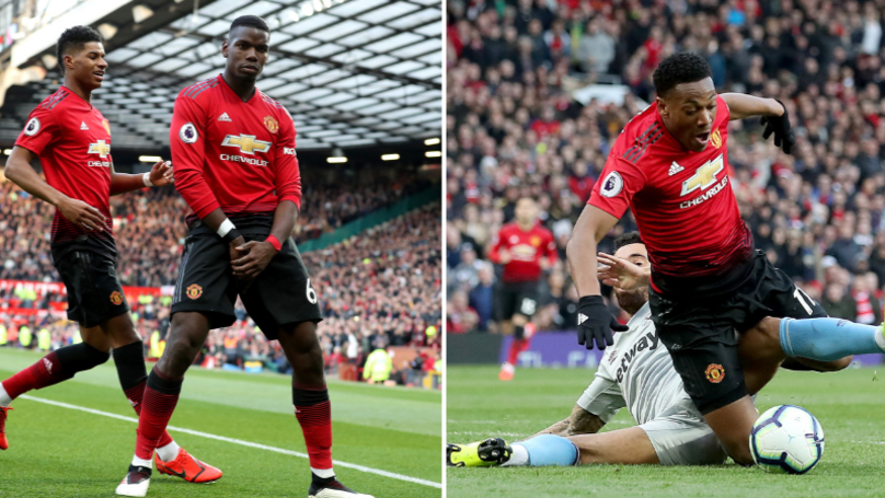 Manchester United Have Been Given The Most Penalties This Season