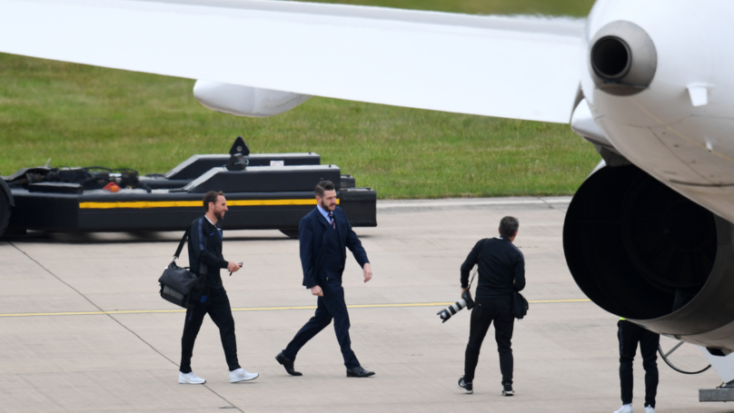 ​England Team Lands Back On UK Soil After World Cup Exploits