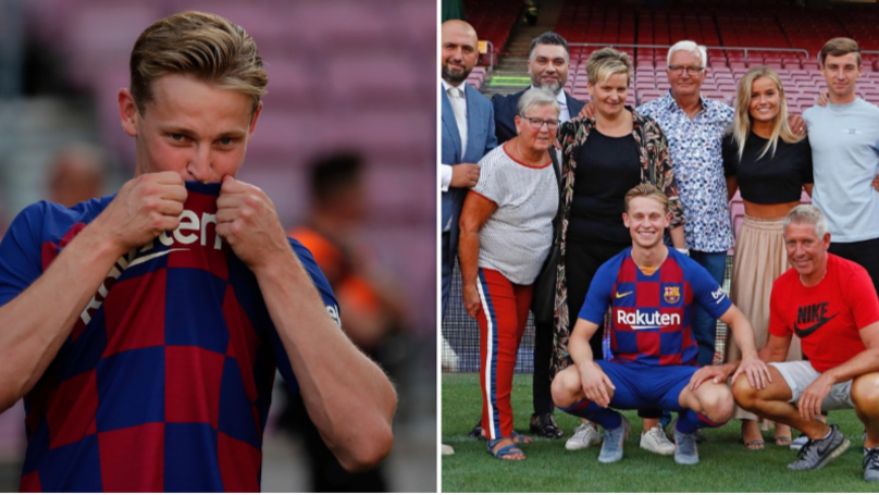 Frenkie De Jong Explains The Importance Of Wearing The No.21 Shirt At Barcelona