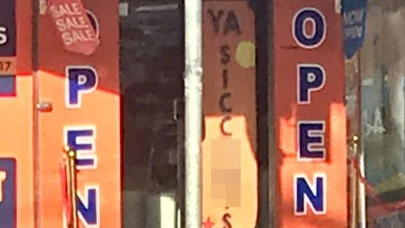 Sydney Shop Owner Defends 'Open Ya Sick C**ts' Sign Saying It's Part Of Aussie Slang