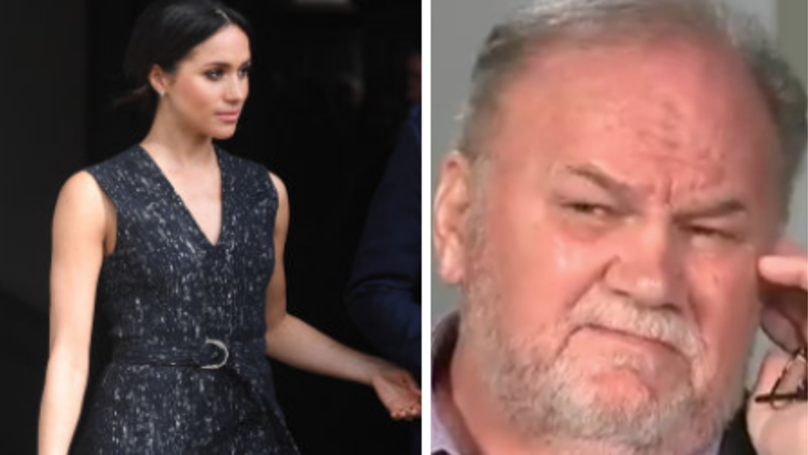 Meghan Markle's Dad Reportedly Believes He'll Never See Her Again
