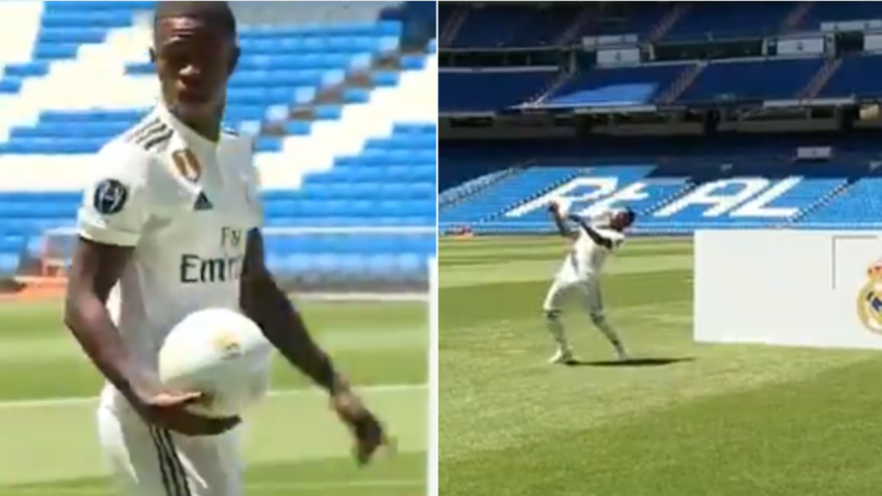 Vinicius Jr. Shows The World His 5* Skills In Memorable Real Madrid Presentation