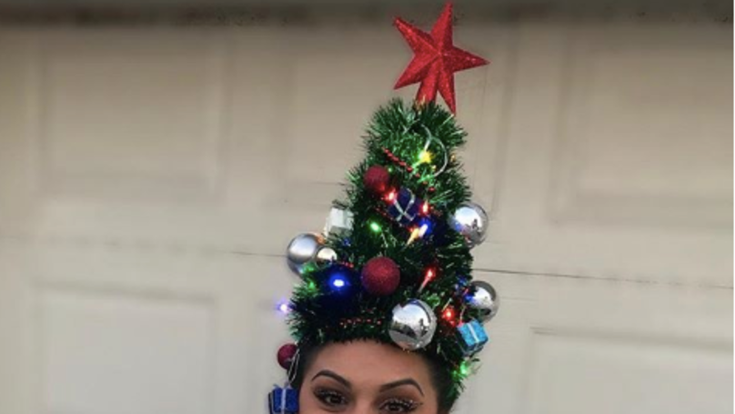 The Christmas Tree Hair Trend Has Taken Over Instagram And It's Festive AF