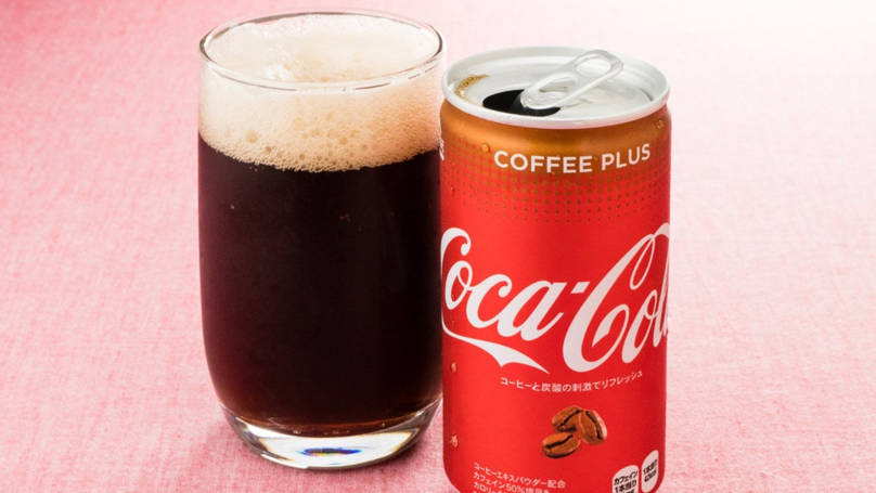 Coca-Cola Releases Coke Flavoured Coffee Drink In Japan