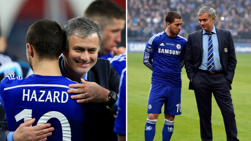 Eden Hazard Admits What He Messaged Jose Mourinho After Chelsea Sacking