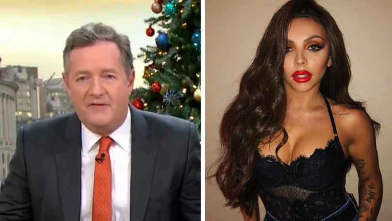 ​Piers Morgan Hits Out At Jesy Nelson Over New Gun Tattoo