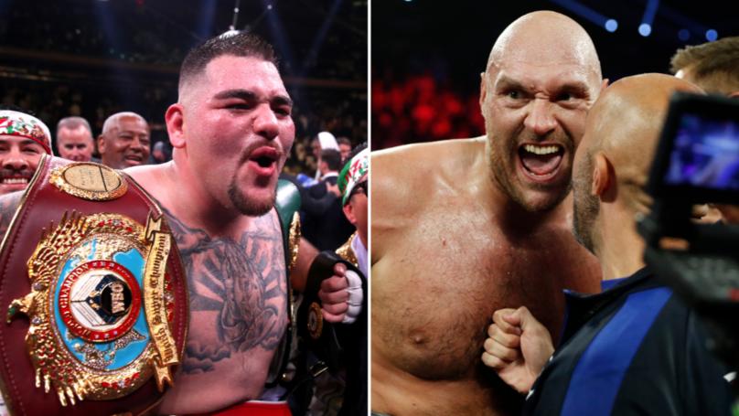 "Andy Ruiz Jr Responds To Tyson Fury Calling Him A ""Bum"" Despite Dethroning Anthony Joshua"