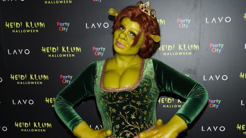 Heidi Klum Just Won Halloween With Her Princess Fiona The Ogre Costume