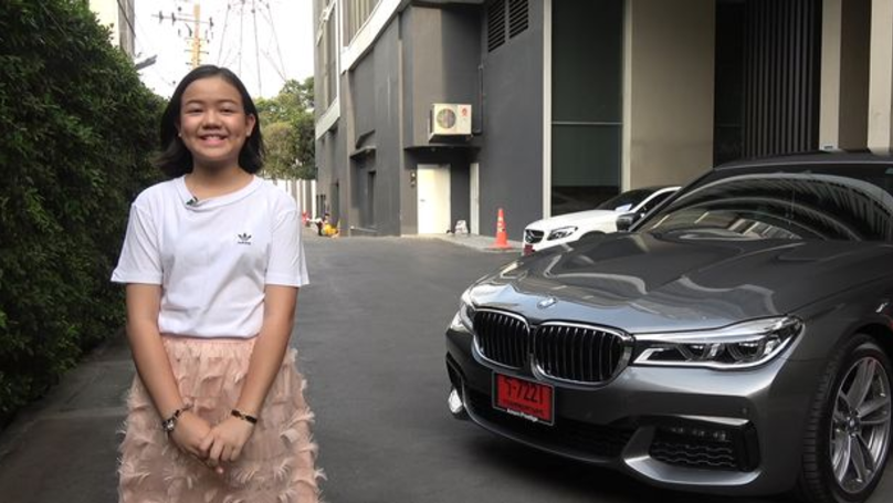 YouTuber Buys A Brand New £147,000 BMW For Her 12th Birthday