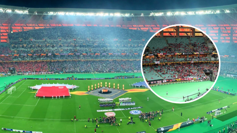 Thousands Of Empty Seats In Baku For All English Europa League Final