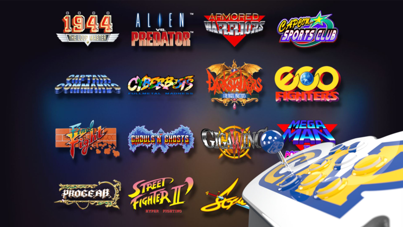 The Capcom Home Arcade Delivers Classic Games, But For A High Price
