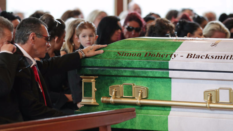 Hundreds Gather For Funeral Of Paddy Doherty's Dad