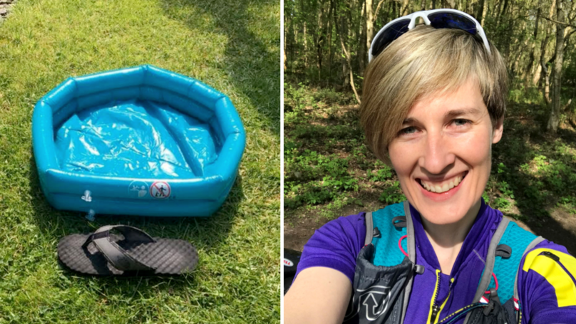 Mum Accidentally Buys Hilarious Pocket-Sized Paddling Pool For Kids