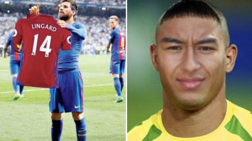 Jesse Lingard Gets The Photoshop Treatment After His Performance Against Everton