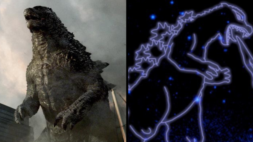NASA Have Named A Constellation Of Stars After Godzilla