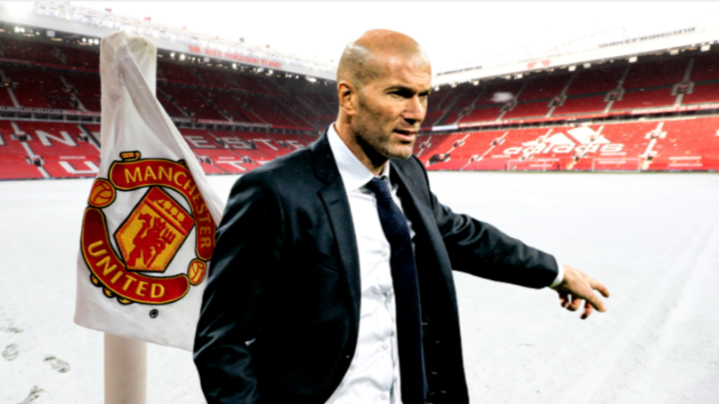 Zinedine Zidane Is Favourite To Be Appointed The Next Manchester United Manager