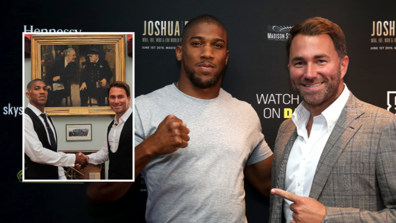 Anthony Joshua To Earn Career-High Purse For His US Debut Against Andy Ruiz Jr