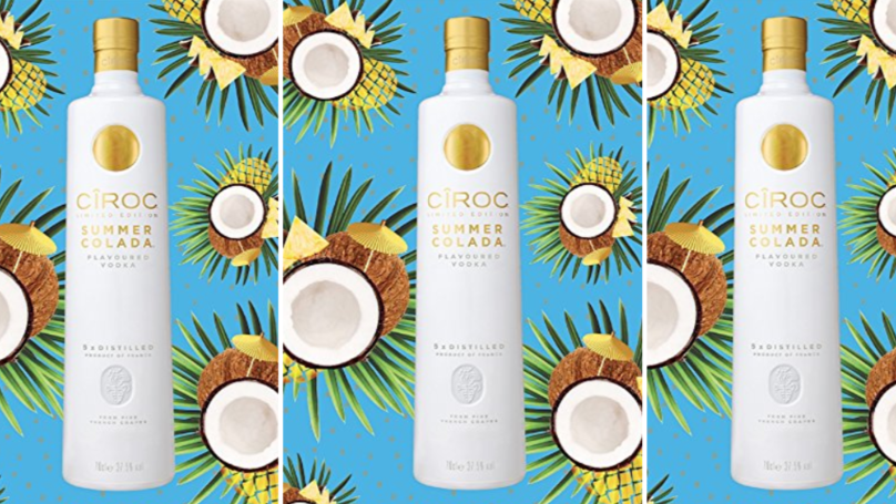 This Cîroc Summer Colada Vodka Will Transport You To An Ibiza Pool Party