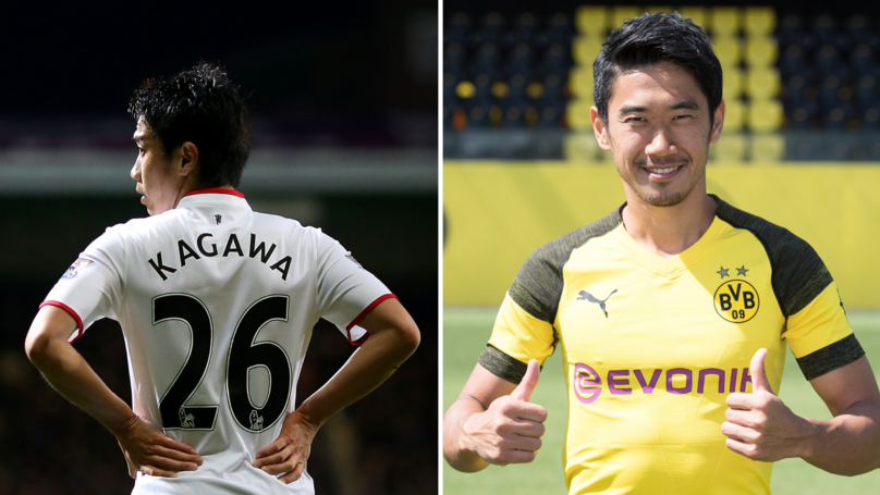 Shinji Kagawa Could Be Set For A Premier League Return