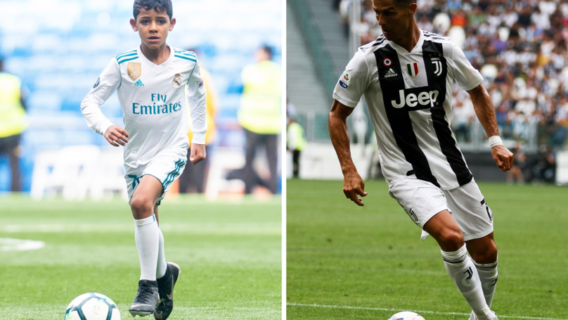 Ronaldo Doesn't Agree With His Son's Bold Claim That He'll Be Better Than Him