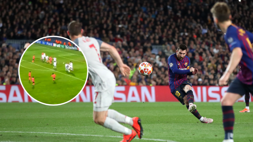 This Two-Minute Video Of Lionel Messi's 52 Free-Kicks Is The Best Thing You'll See Today