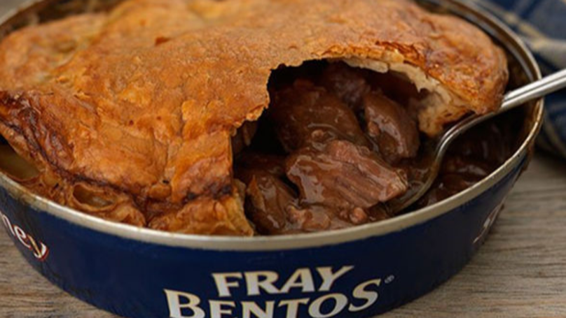 Fray Bentos To Change Iconic Pie Tins Because Millennials Can't Open Them