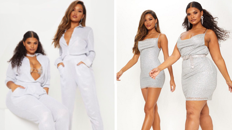 ​PrettyLittleThing Praised For Showing Outfits In More Than One Size