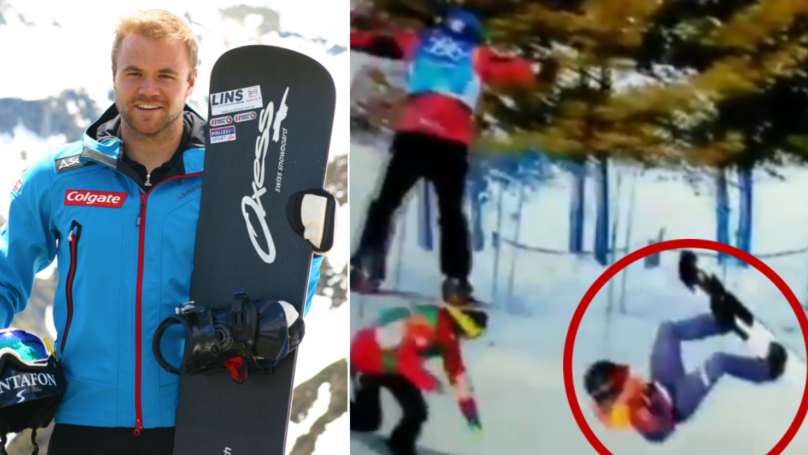 Austrian Snowboarder Breaks His Neck In Horror Crash At Winter Olympics