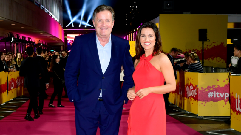 """Piers Morgan Left """"Livid"""" After Ant And Dec Win National Television Award"""
