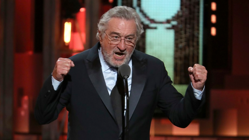 Trump Protester Hits Back At Robert De Niro's Broadway Show