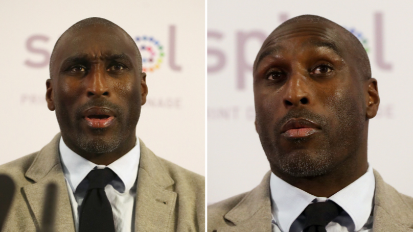 Sol Campbell Makes Incredible Claim At First Macclesfield Town Press Conference