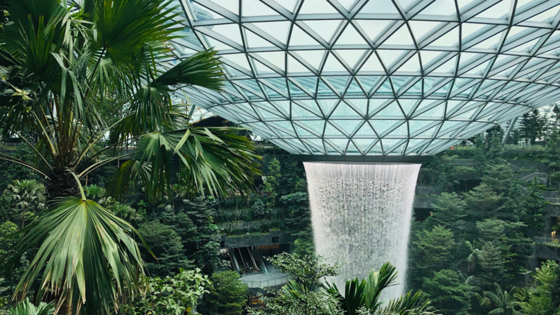 The World's Best Airport Is Revealed And It's Got An Indoor Rainforest