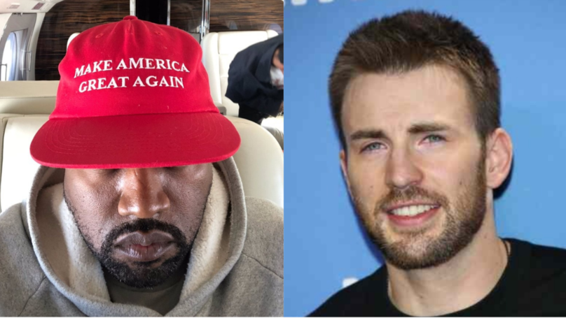 Chris Evans Goes In On Kanye West For His 'MAGA' Rant