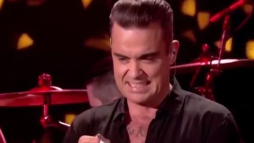 Robbie Williams Responds To The Hand Sanitiser Shit Storm