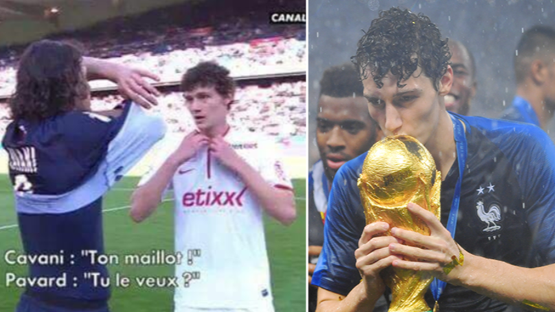​Edinson Cavani Knew Benjamin Pavard Was A Class Player Three Years Before The World Cup