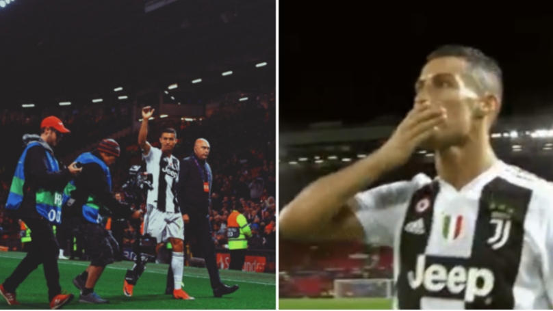 Cristiano Ronaldo Bids Farewell To Manchester United Fans After Old Trafford Return