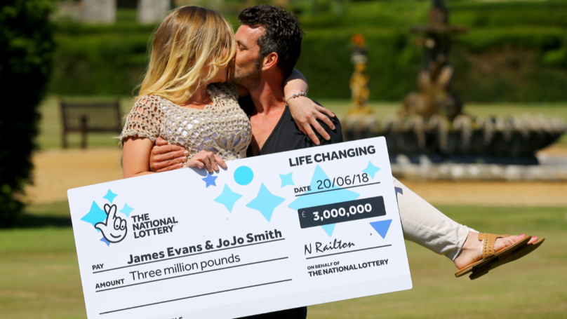 ​Self-Employed Gardener Wins £3 Million On Scratchcard