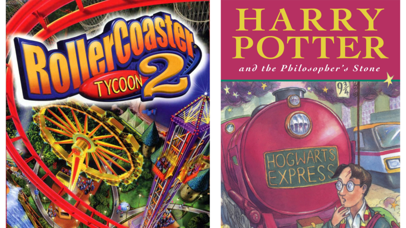 This Fan's Harry Potter Theme Park In 'RollerCoaster Tycoon 2' Is Magical