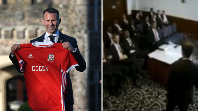 Ryan Giggs' Final Team Talk As Manchester United Interim Manager Is Atrocious