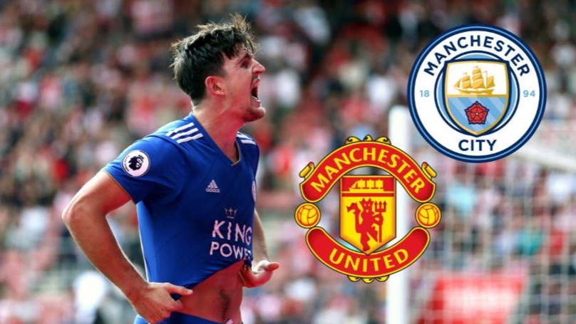 Harry Maguire Has Told Leicester Management He 'Wants To Pursue A Move' To Manchester United Or Manchester City