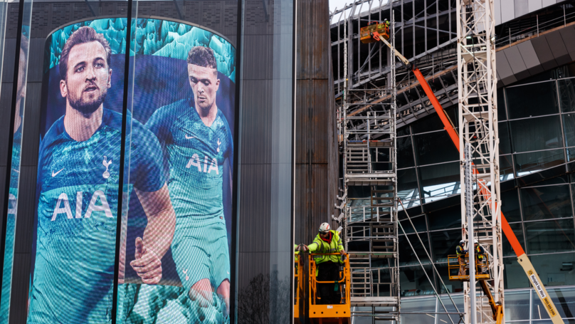 Tottenham Hotspur Stadium Hit With Further Delays, Could Now Open In February