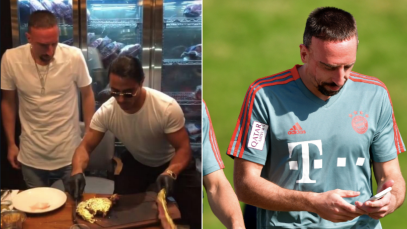 "Franck Ribery Given 'Heavy Fine' After Telling Critics To ""F*** Your Mothers And Grandmothers"" Over £1,000 Steak"