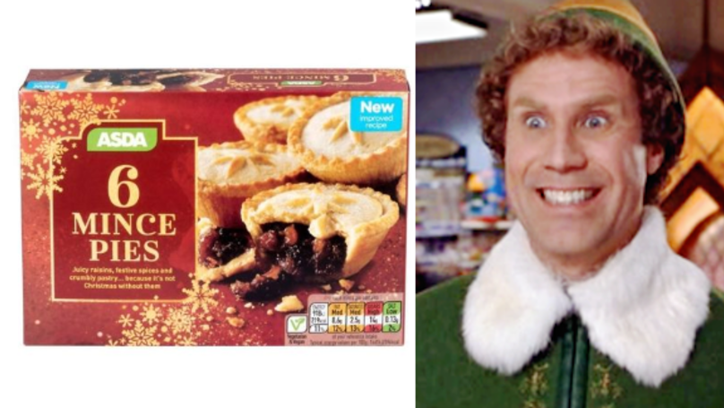 ASDA Is Selling Vegan Mince Pies, And They Look Delicious