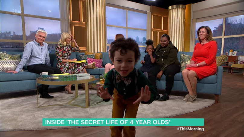 ​Four-Year-Old Asks Holly Willoughby To Marry Him Before Causing Chaos On 'This Morning'