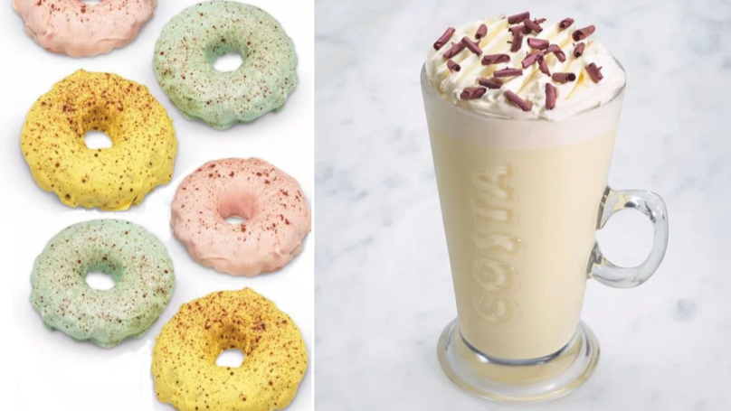 Costa Coffee Has Brought Out A New Spring Menu - Along With White Hot Chocolate