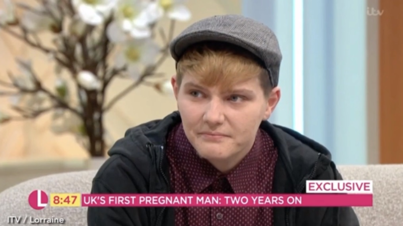 First Man To Give Birth In The UK Warns Others Against Doing The Same
